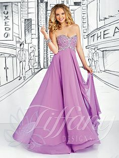 Strapless sweetheart neckline, silver rhinestones, bugle beads, and sequined bodice, full circle poly chiffon skirt with split front flyaway panel, zipper back. Silky Chiffon