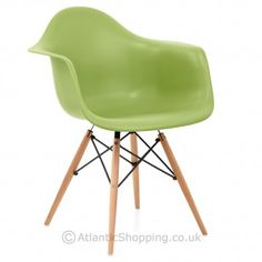 Shop from a huge selection of discount Dining Chairs at Atlantic Shopping, all with free next day delivery. Find the perfect Dining Chair for your room. Kitchen Chairs, Dining Chairs, Dining Table, Dining Room, Eames, Wooden Armchair, Green Office, Furniture, Home Decor