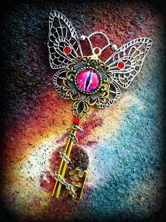 Otherworld Butterfly Key by Starl33na.deviantart.com on @deviantART