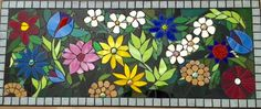 Mosaic Table top 2016 by Rozie