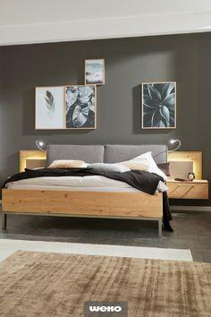 Iron Furniture, Bedroom Furniture Design, Bedroom Color Schemes, Bedroom Colors, Bedroom Bed, Bedroom Decor, Architect Design House, Blue Gray Bedroom, Bed Design