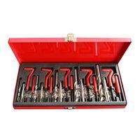 Tek Motion 131 pc Stripped <b>Thread</b> Rethread Helicoil <b>Repair</b> Kit ...