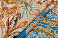BOHO style, crepe de chine silk fabric, floral print fabric, 100%mulberry silk, sew by yard
