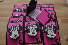 Minnie Mouse Baby Shower Decorations | Creations: Minnie Mouse Invitations