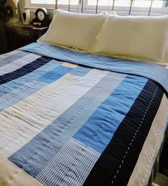 Elizabeth Queen-Size Patchwork Quilt by Hey Baby Craft Co. on Scoutmob Shoppe