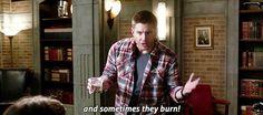 Dean's denial. Supernatural 11x09 O Brother Where Art Thou?