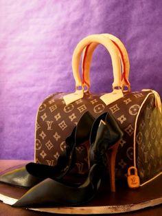 Louis Vuitton Torte mit High Heels