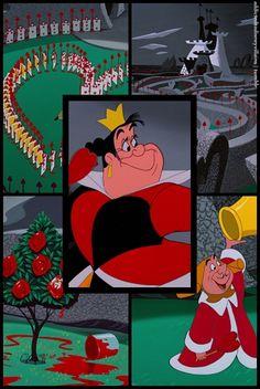 The Queen of Hearts  -- Alice in Wonderland