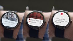 A closer look at Google's gorgeous smartwatches - notifications   The Verge