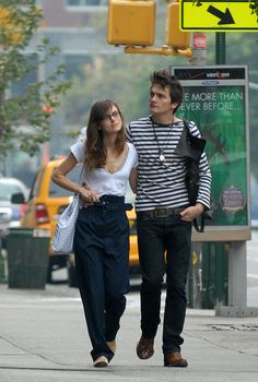 Rupert Friend and Keira Knightley Photos - Keira Knightley and Rupert Friend in Manhattan - Zimbio