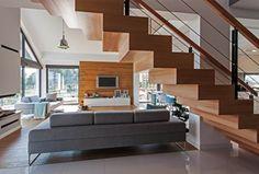 Schody styl Nowoczesny - zdjęcie od DOMY Z WIZJĄ - nowoczesne projekty domów
