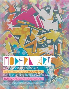 Modern Art Poster by martinemes.deviantart.com on @DeviantArt