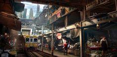 Future train market by nkabuto.deviantart.com on @DeviantArt