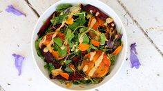 Roasted Sweet Potato And Beetroot Salad Recipe - Medibank be. magazine