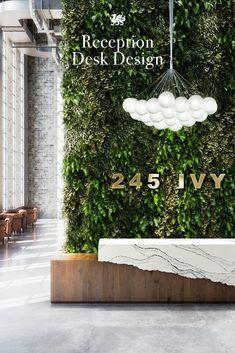 Spa Interior, Restaurant Interior Design, Office Interior Design, Interior Exterior, Reception Desk Design, Reception Areas, Reception Desks, Spa Design, Salon Design