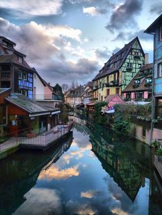 A Canal in France. Stunning Snap | See more Amazing Snapz