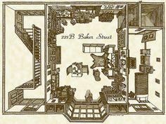 комната Шерлока