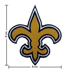 New Orleans Saints. Need this for a scrub top.