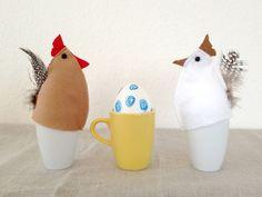 schaeresteipapier: Ostern - 4. Idee: Nähen mit Filz, Eierwärmer
