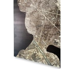 'The Wanderlust Traveler' Graphic Art on Plaque