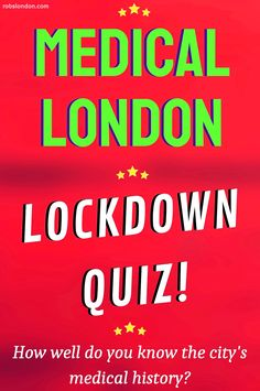 With the nation stuck indoors due to the Coronavirus, what better time to have a quiz? In honour of NHS staff, all 20 questions here are related to London's medical history. 20 Questions, This Or That Questions, Medical History, Did You Know, English, London, Big Ben London, English Language