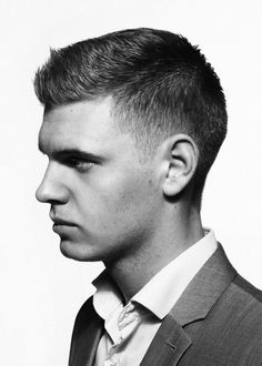 Men's Crew Cut Hairstyle