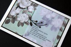 schönes text auf der trauerkarte
