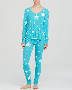 Wildfox Star Pajama Set