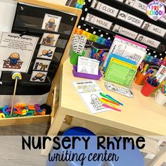 Nursery Rhyme Themed Activities and Centers - Pocket of Preschool