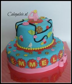 blauwe pip taart