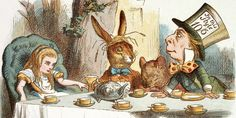 Original illustration from Alice's Adventures in Wonderland (Credit: Credit: John Tenniel/Macmillan)