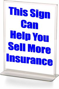 21 Ways to Use Signs In Your Agency to Sell More Insurance Insurance Marketing, Insurance Agency, Critical Illness Insurance, Life Insurance Agent, Thank You Customers, Online Signs, Insurance Benefits, Sales Techniques, Writing About Yourself