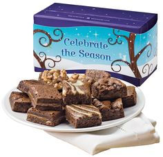 Fairytale Brownies Celebrate the Season Morsel Dozen Gift Box >>> Details can be found by clicking on the image.