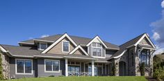 LP siding products on a home