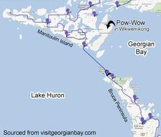 manitoulin island ferry - Google Search