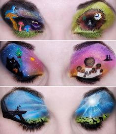 Makeup= Eye Art