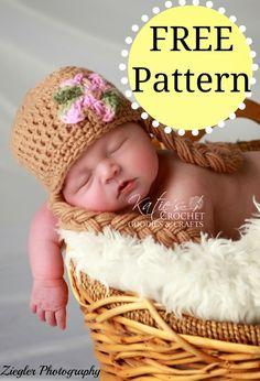 Free Frozen, Rapunzel, Disney Princess Crochet Hat Pattern