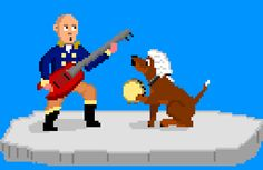George and Dogsworth jammin'