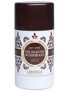 A Natural Deodorant That Actually Works: Daily Beauty Reporter :  Before natural deodorant was a thing that all of us had heard of, this really happened: My mom saw one that more closely resembled a rock than actual deodorant at a certain natural foods store. She asked a salesperson...