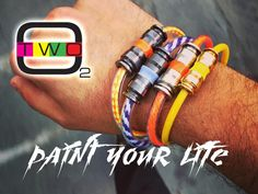 Easy to wear bracelets, made to paint your life! Add colors to your days with our hand made in italy bracelets.