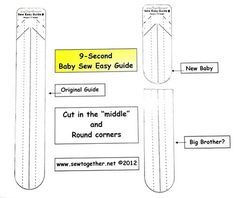"""Make A Sew Easy Guide 'Baby' In 9 Seconds!            A Sew Easy """"baby"""" is yours when you trim your Sew Easy Guide to a shorter length, and..."""
