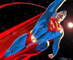 #Superman #Fan #Art. By BroHawk aka Dave Williams.. SIMPLY SUPER!.