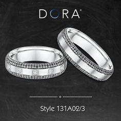 *Raw and Wild just like our Love*  Find your piece of art >> http://dorarings.com/stores/ #weddingrings #gettingmarried #venetianlace