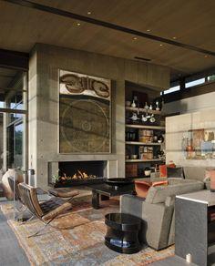 loft space with #antique decor