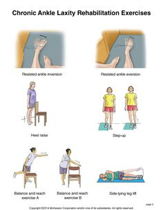 Summit Medical Group - Chronic Ankle Laxity Exercises