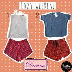 ¡Qué ganas de estar en pijama todo el día y descansar! Estos son nuestros conjuntos favoritos de Dreams by Veneno. ¿Cuál te gusta más?