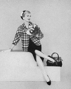 Anne St Marie March Vogue 1958 Photo by Leombruno Bodi