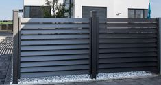 забор не как у соседа House Fence Design, Small Room Interior, Metal Garden Gates, Privacy Fence Designs, Container Architecture, Horizontal Fence, Front Yard Fence, Deck Decorating, Grill Design
