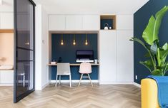 Ikea Hack, Guest Room, Study, Living Room, Interior Design, Bedroom, Table, Furniture, Home Decor