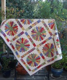 Sunburnt Quilts-I really need to make a Dresden quilt